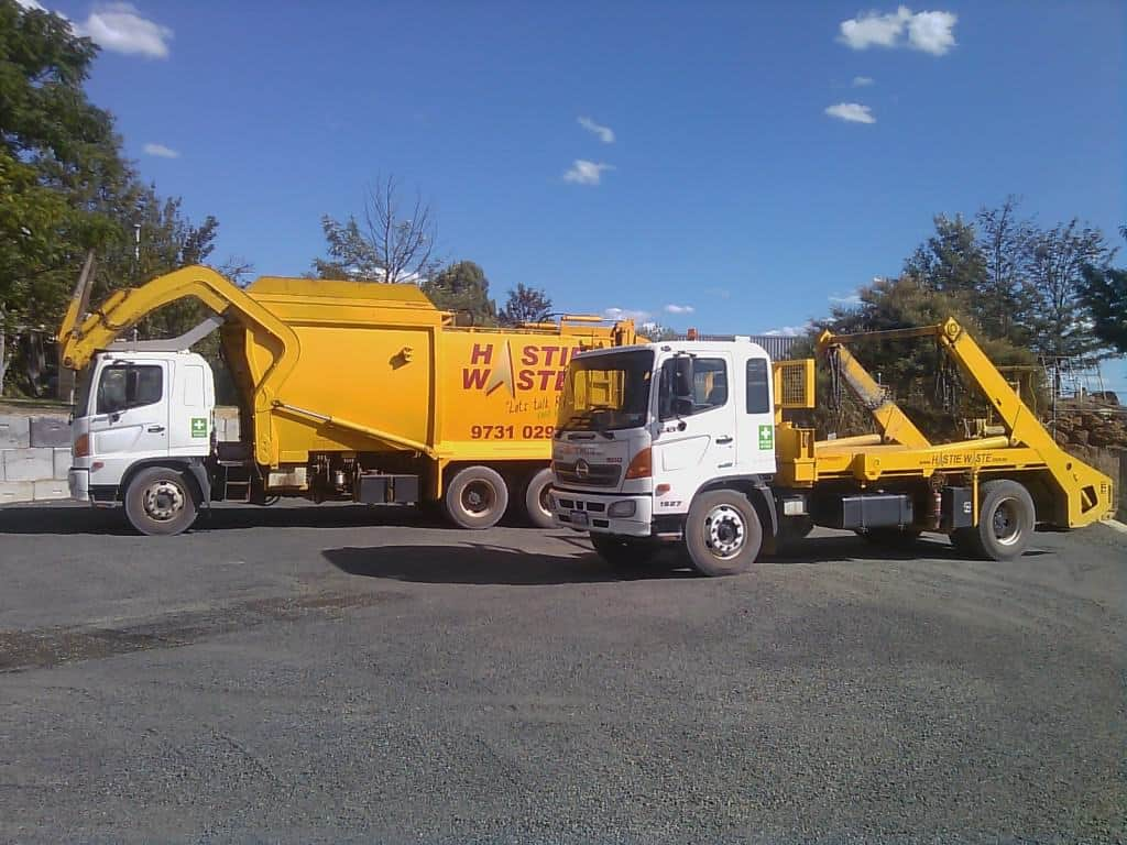 Hastie Waste Skip Bin & Front Lift Trucks